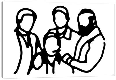 A Team Canvas Art Print