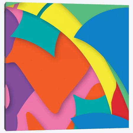 Abstract I Canvas Print #YAL83} by Yoni Alter Art Print