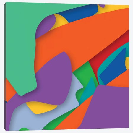 Abstract III Canvas Print #YAL85} by Yoni Alter Canvas Artwork