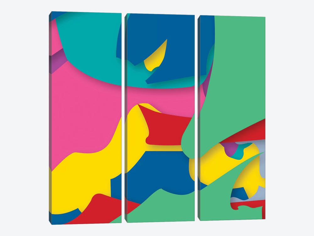 Abstract IV by Yoni Alter 3-piece Canvas Wall Art