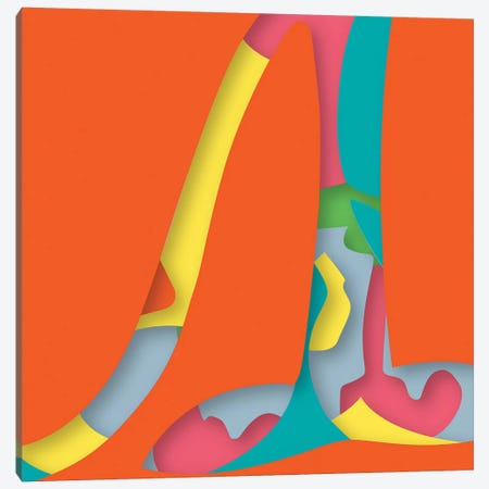 Abstract VI 3-Piece Canvas #YAL88} by Yoni Alter Canvas Print