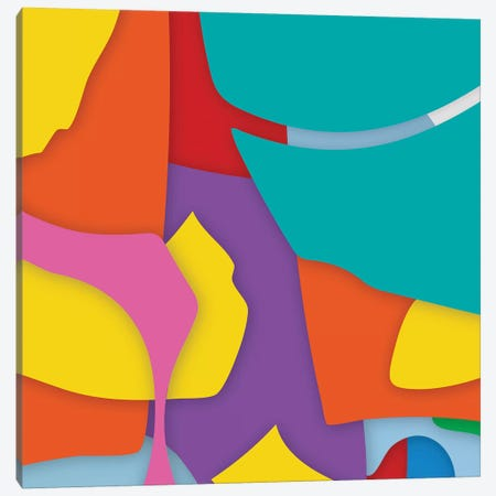 Abstract VII Canvas Print #YAL89} by Yoni Alter Art Print