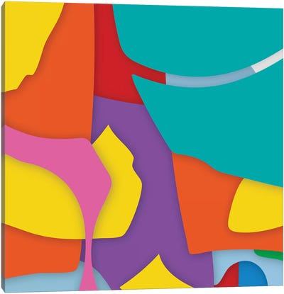 Abstract VII Canvas Art Print