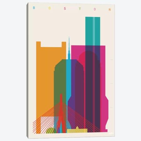 Boston Canvas Print #YAL8} by Yoni Alter Art Print