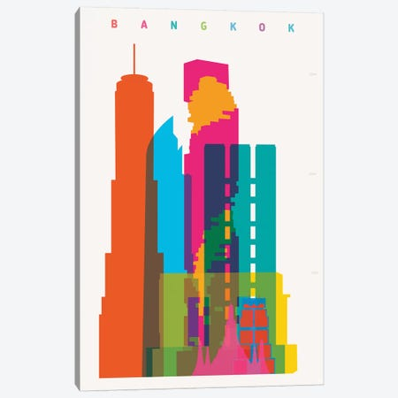 Bangkok Canvas Print #YAL91} by Yoni Alter Canvas Art