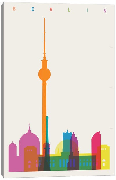 Berlin Canvas Art Print