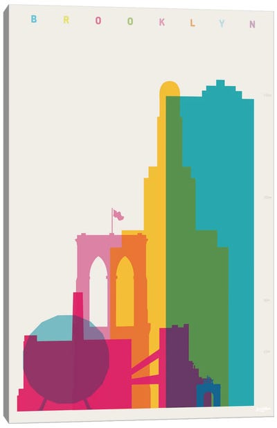Brooklyn Canvas Art Print
