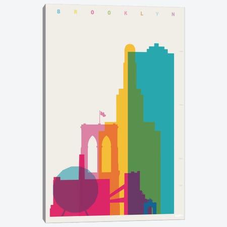Brooklyn Canvas Print #YAL9} by Yoni Alter Art Print