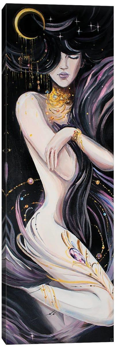Dark Goddess Canvas Art Print