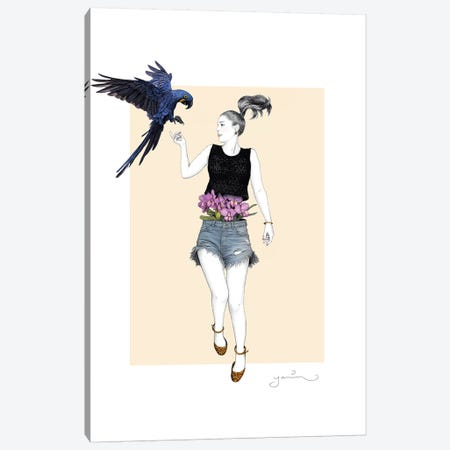 Martina Canvas Print #YAR14} by Yanin Ruibal Art Print