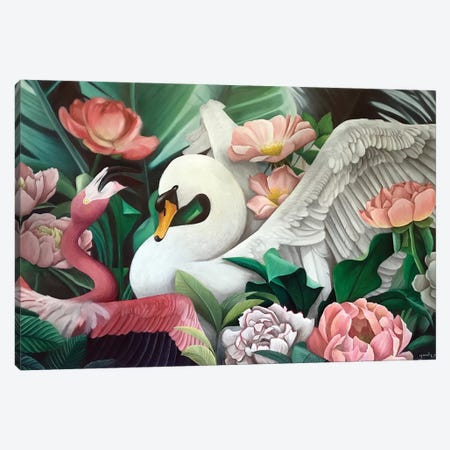 Swaningo Canvas Print #YAR24} by Yanin Ruibal Canvas Art