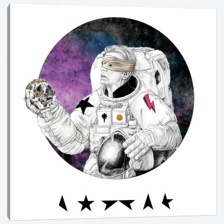 David Bowie Blackstar Canvas Print #YAR7} by Yanin Ruibal Canvas Print