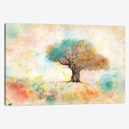 Citrus Tree 3-Piece Canvas #YBM18} by Ynon Mabat Canvas Art Print