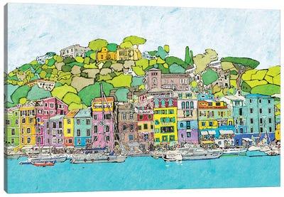 Coastal City Canvas Art Print