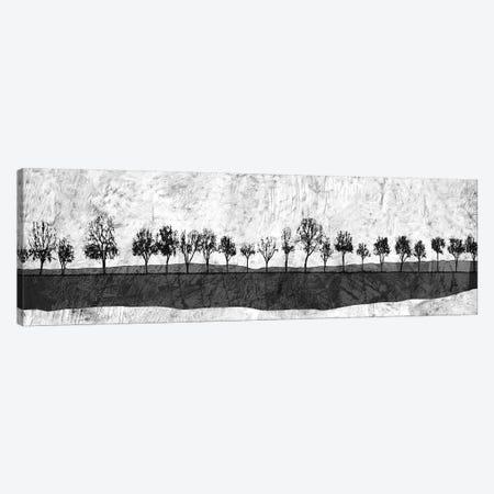 Dark Ink Trees Canvas Print #YBM20} by Ynon Mabat Canvas Art