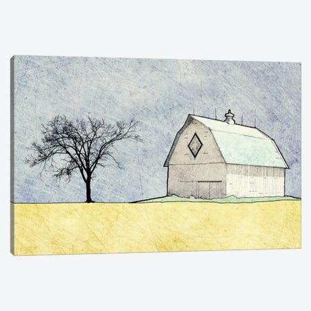 Daytime Farm Scene Canvas Print #YBM22} by Ynon Mabat Canvas Artwork