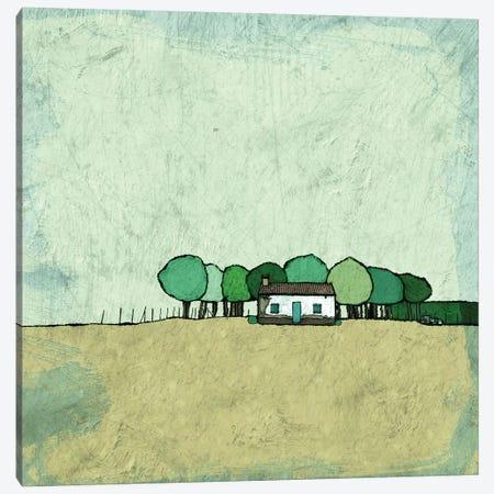 Farmhouse On The Edge Canvas Print #YBM26} by Ynon Mabat Canvas Print