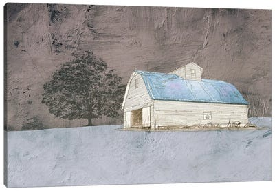 Gloomy Evenings Canvas Art Print