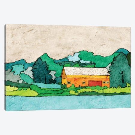 Lake Side Canvas Print #YBM33} by Ynon Mabat Canvas Print