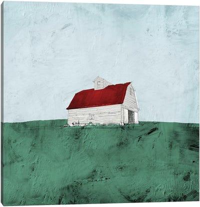 Mint Fields Canvas Art Print