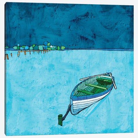 Peaceful Lake Canvas Print #YBM52} by Ynon Mabat Canvas Art Print