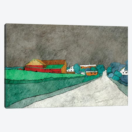 Rainy Roadtrips Canvas Print #YBM54} by Ynon Mabat Canvas Wall Art