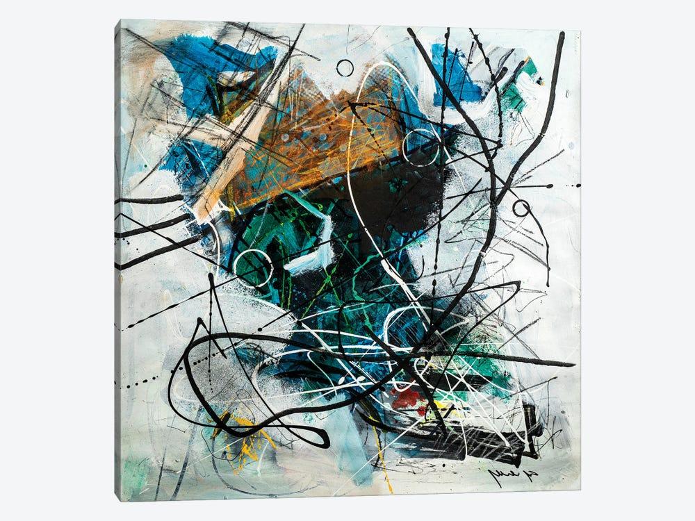 Mind Symphony by Yossef Ben-Sason 1-piece Canvas Art