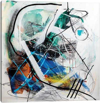 Indise The Machine Canvas Art Print