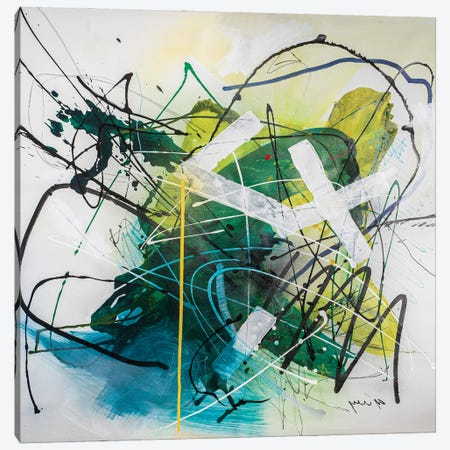 Silent Motion Canvas Print #YBS15} by Yossef Ben-Sason Canvas Artwork