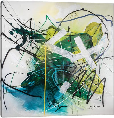 Silent Motion Canvas Art Print