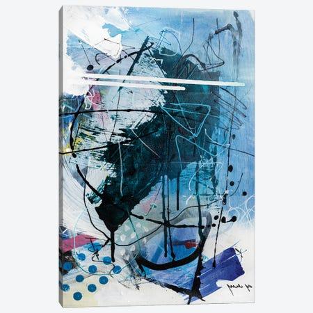 Frozen Drops Canvas Print #YBS17} by Yossef Ben-Sason Canvas Artwork
