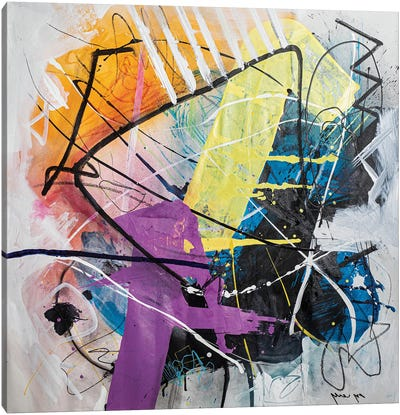 Clash Canvas Art Print