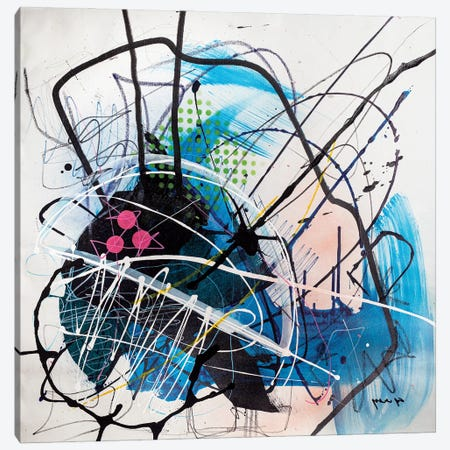 Interception Canvas Print #YBS22} by Yossef Ben-Sason Canvas Art