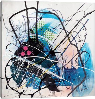 Interception Canvas Art Print