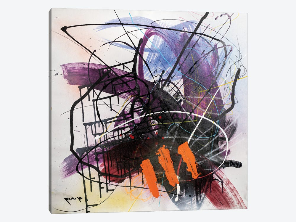 Wild Thoughts by Yossef Ben-Sason 1-piece Canvas Wall Art
