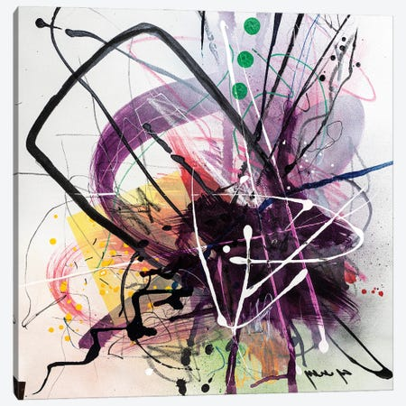 Splash Canvas Print #YBS25} by Yossef Ben-Sason Art Print