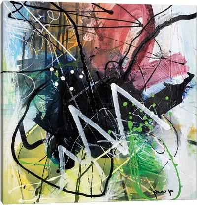 Unusual E Feelings Canvas Art Print