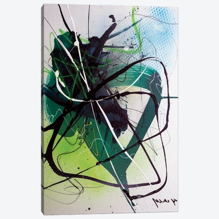 Evolution Of Shape Canvas Print #YBS28} by Yossef Ben-Sason Canvas Artwork