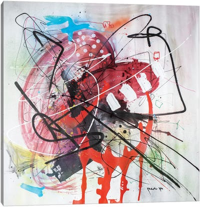 Monkey Buisness Canvas Art Print