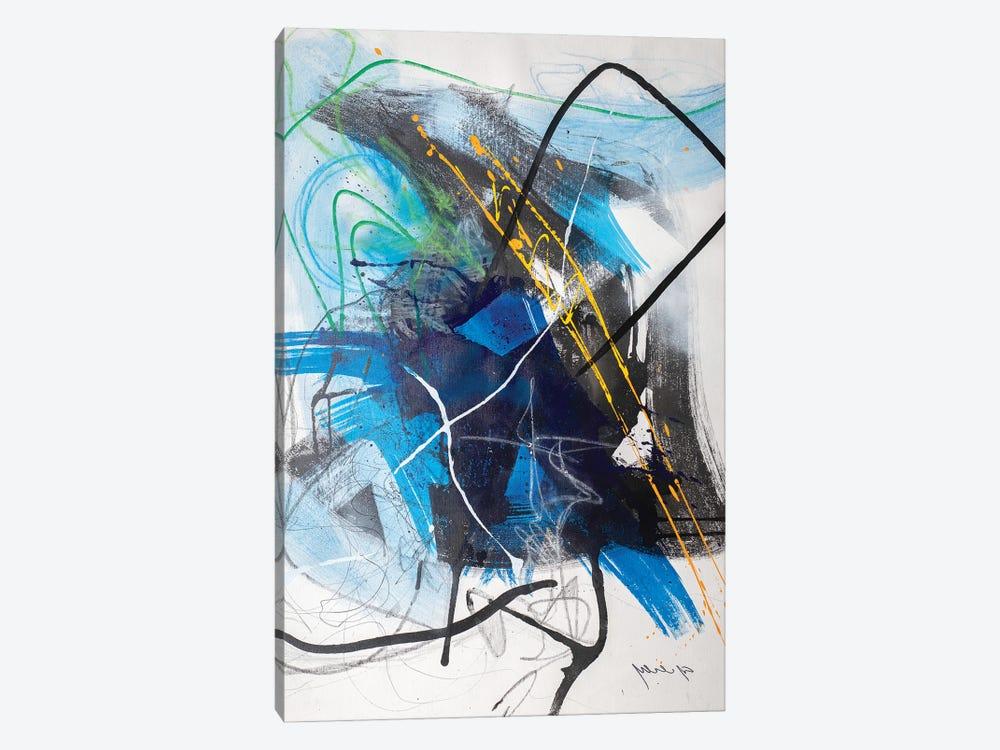 Inner Storm by Yossef Ben-Sason 1-piece Canvas Artwork