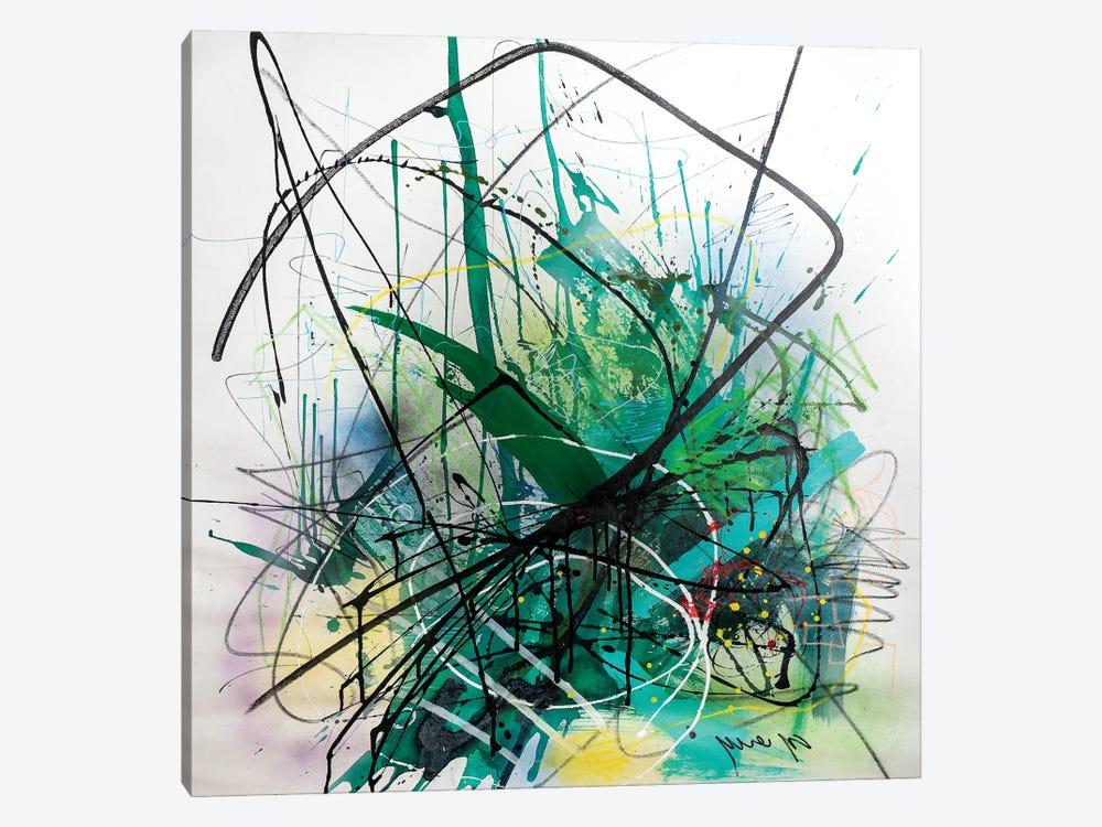Green Field by Yossef Ben-Sason 1-piece Canvas Wall Art