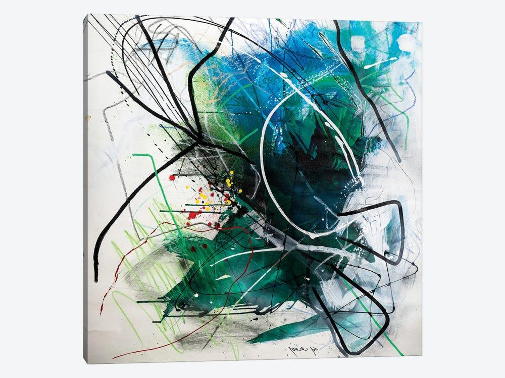 Untitled I by Yossef Ben-Sason 1-piece Canvas Art Print