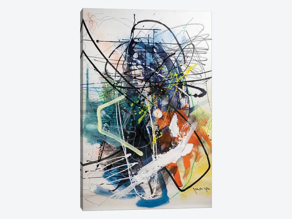 Untitled III by Yossef Ben-Sason 1-piece Canvas Art