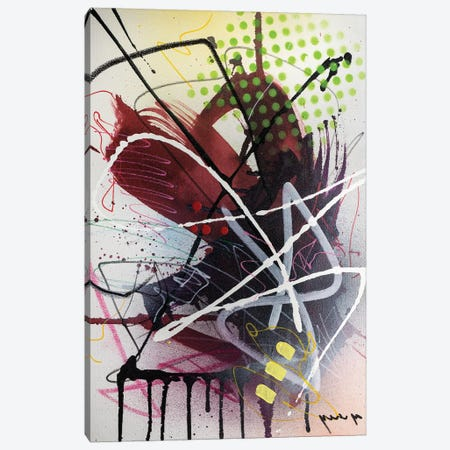 Sings Of Intuition Canvas Print #YBS9} by Yossef Ben-Sason Canvas Wall Art