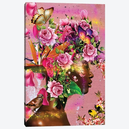In Full Bloom Canvas Print #YCB11} by Yvonne Coleman Burney Canvas Art Print