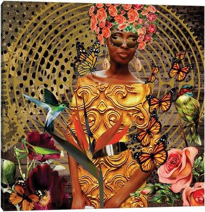 Beautiful Butterfly Canvas Art Print