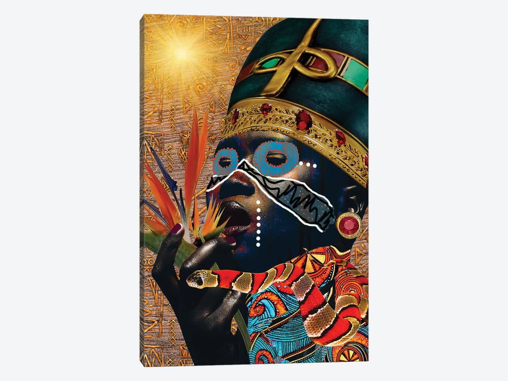 Queen Of Paradise by Yvonne Coleman Burney 1-piece Canvas Print