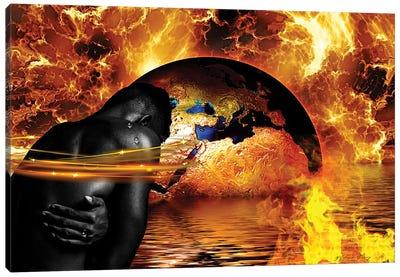 Through The Fire Canvas Art Print