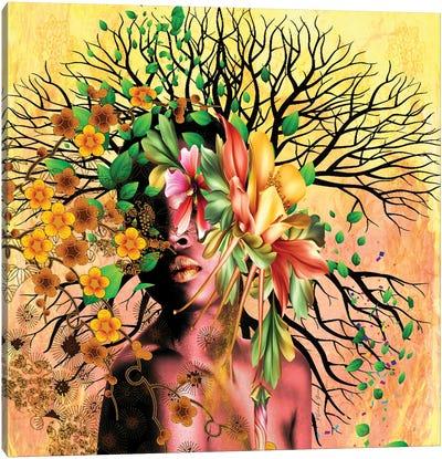 Women In Bloom - I Create Life Canvas Art Print
