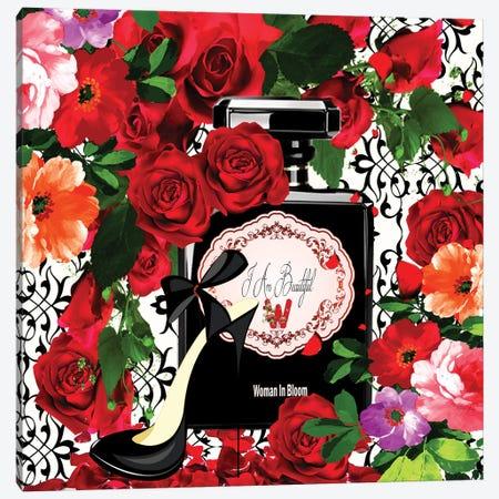I Am Beautiful Canvas Print #YCB33} by Yvonne Coleman Burney Art Print